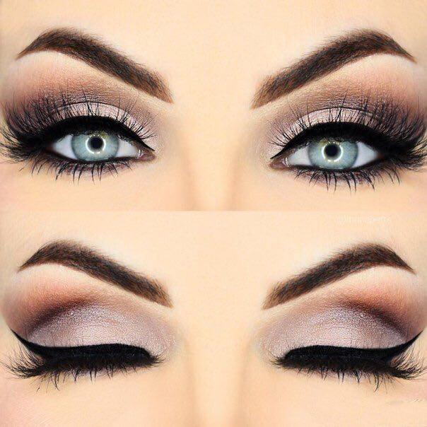 Вечерний макияж глаз это